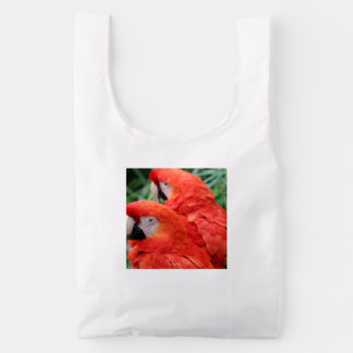Scarlet Macaw Reusable Bag