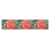 Scarlet Macaw Short Table Runner