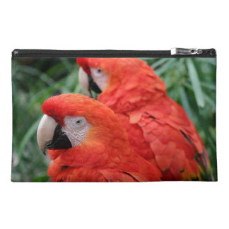 Scarlet Macaw Travel Accessory Bag