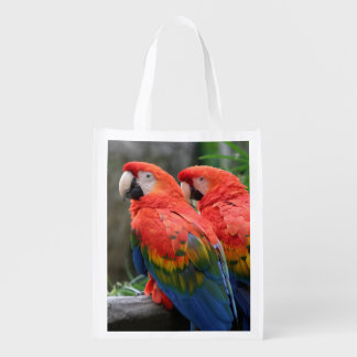 Scarlet Macaw Market Tote