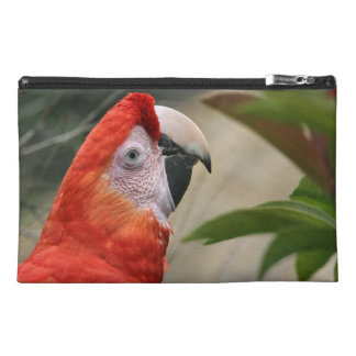 Scarlet Mackaw Photo Travel Accessories Bags