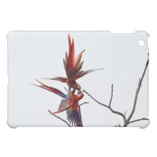 Scarlet Mackaws Cover For The iPad Mini