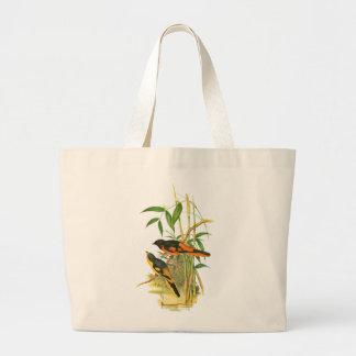 Scarlet Minivet Canvas Bag