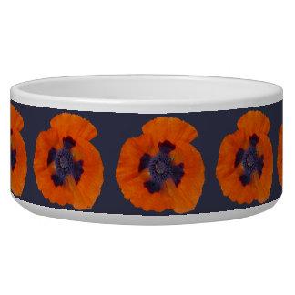 Scarlet Orange Poppy 1 Bowl