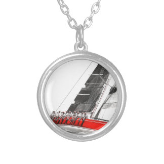 Scarlet Oyster.jpeg Silver Plated Necklace