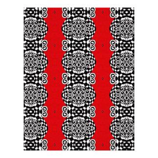 Scarlet Pattern Letterhead