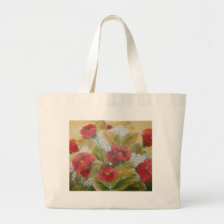 SCARLET POPPIES CANVAS BAGS