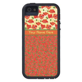Scarlet Poppies, Buds: iPhone 5/5s Xtreme Case Case For iPhone 5