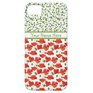 Scarlet Poppies Mix'n'Match iPhone 5/5s Case