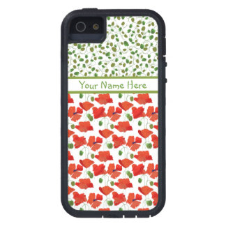 Scarlet Poppies Mix'n'Match iPhone 5 Xtreme Case iPhone 5 Covers