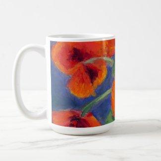Scarlet Poppies Mug mug
