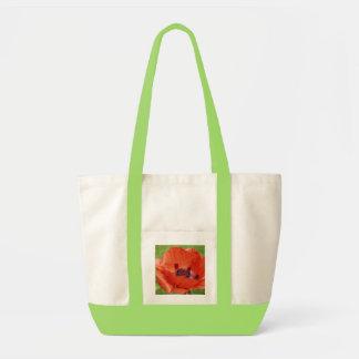 Scarlet Poppy Tote Bag