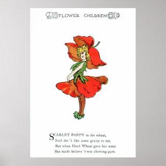 Scarlet Poppy Print