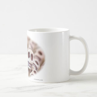 Scarlet Red And White Coffee Mug