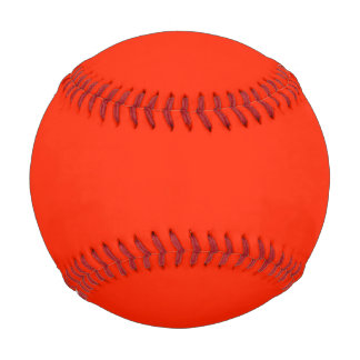 Scarlet Red Baseball