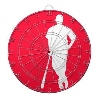 Scarlet Red Baseball; Softball Dartboards