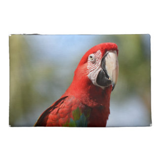 Scarlet Red Macaw Travel Accessory Bag