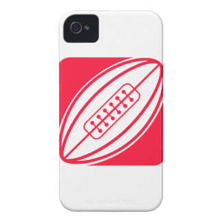 Scarlet Red Rugby iPhone 4 Cover