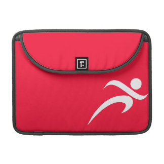 Scarlet Red Running MacBook Pro Sleeve