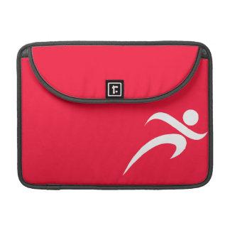Scarlet Red Running Sleeve For MacBooks