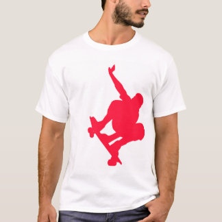Scarlet Red Skater T-Shirt