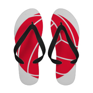 Scarlet Red Volleyball Sandals