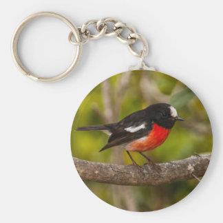 Scarlet Robin Keychain