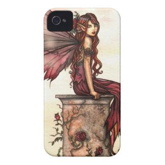 Scarlet Rose Fantasy Fairy Art iPhone Case iPhone 4 Case-Mate Case