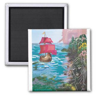 Scarlet Sails Magnet