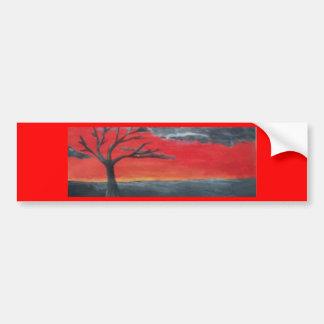 Scarlet Sky Bumper Sticker