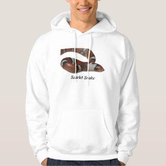 Scarlet Snake Basic Hooded Sweatshirt