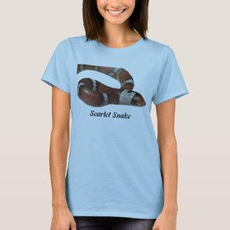 Scarlet Snake Ladies Baby Doll T-Shirt