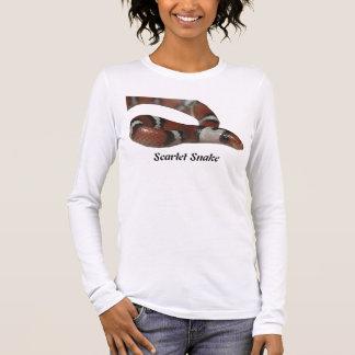 Scarlet Snake Ladies Long Sleeve Long Sleeve T-Shirt