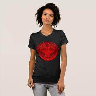 Scarlet Solar Disk T-Shirt
