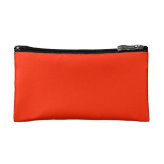 Scarlet Solid Color Makeup Bags