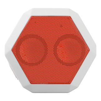 Scarlet Solid Color White Bluetooth Speaker