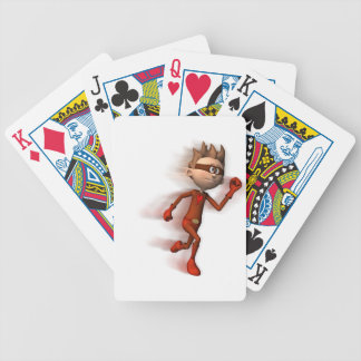 Scarlet Speedster Bicycle Playing Cards