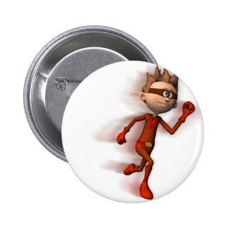 Scarlet Speedster Button
