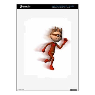 Scarlet Speedster Decals For iPad 3