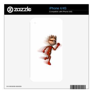 Scarlet Speedster Skin For iPhone 4