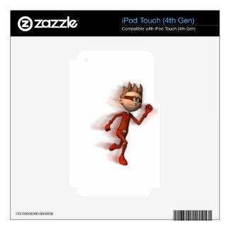 Scarlet Speedster Skin For iPod Touch 4G