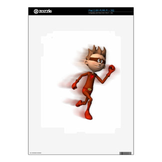 Scarlet Speedster Skins For iPad 2