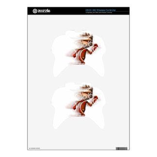 Scarlet Speedster Xbox 360 Controller Skins