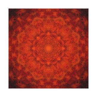 Scarlet Star Canvas Print