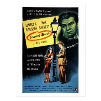 """Scarlet Street"" Postcard"