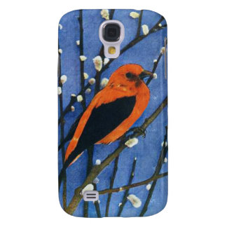 Scarlet Tanager Galaxy S4 Covers