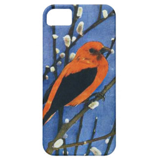 Scarlet Tanager iPhone 5 Cases