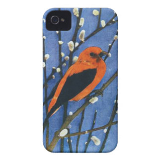 Scarlet Tanager Case-Mate iPhone 4 Cases
