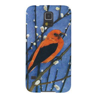 Scarlet Tanager Cases For Galaxy S5