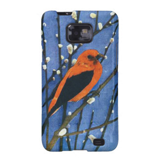 Scarlet Tanager Galaxy S2 Cover